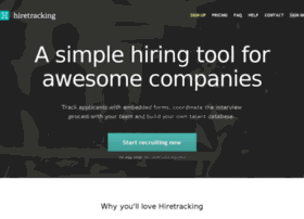 hiretracking.com