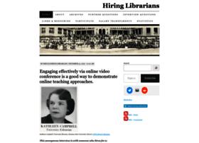 hiringlibrarians.com