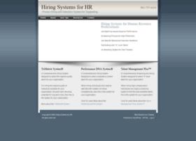 hiringsystemsforhr.com