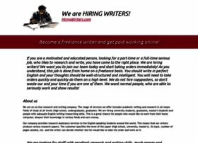 hiringwriters.com
