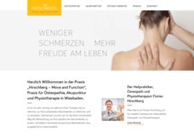 hirschberg-physiotherapie.de