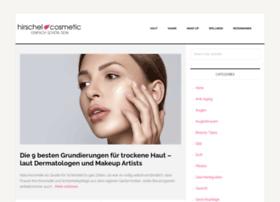 hirschel-cosmetic.de