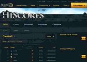 hiscore.runescape.com
