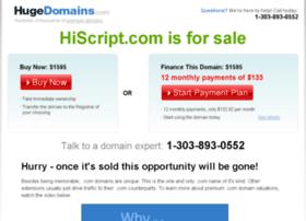 hiscript.com