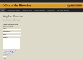 historian.ansteorra.org