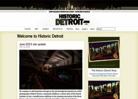 historicdetroit.org
