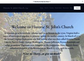 historicstjohnschurch.org