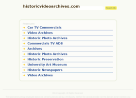historicvideoarchives.com