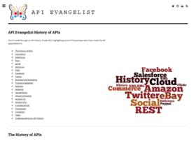 history.apievangelist.com