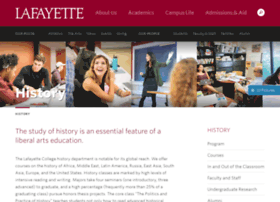 history.lafayette.edu