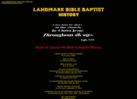 history.landmarkbiblebaptist.net