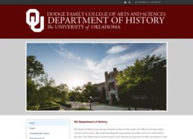 history.ou.edu