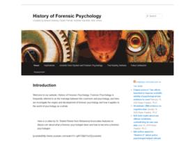 historyforensicpsych.umwblogs.org