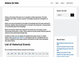 historyforkids.org