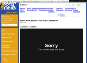 historymalden.wikispaces.com