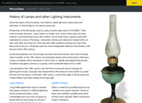 historyoflamps.com