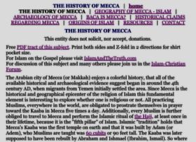 historyofmecca.com