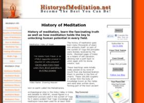 historyofmeditation.net