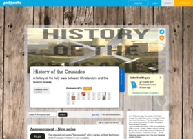 historyofthecrusades.podomatic.com