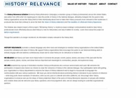 historyrelevance.com