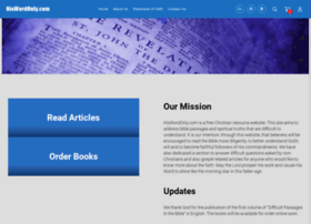 hiswordonly.com