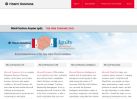 Hitachisolutions-us.com