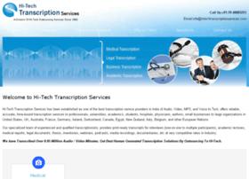 hitechtranscriptionservices.com