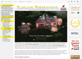 hluhluwereservations.co.za