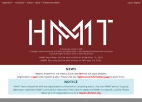 hmmt.mit.edu