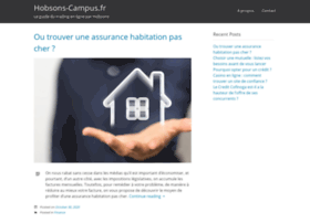 hobsons-campus.fr