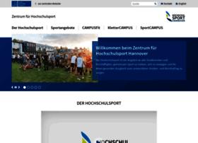 hochschulsport-hannover.de