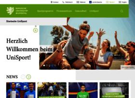 hochschulsport.uni-wuppertal.de