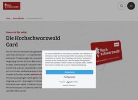 hochschwarzwald-card.de