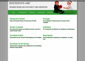 hochzeits-abc.com