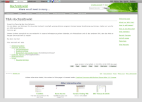 hochzeitswiki.wikidot.com