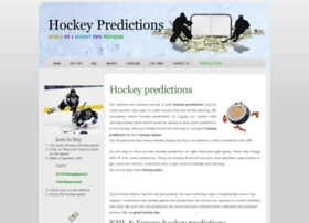 Hockey-predictions.com