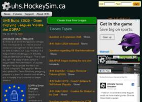 hockeysim.ca