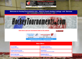 hockeytournaments.com