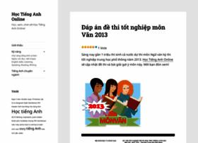 hoctienganhonline.wordpress.com