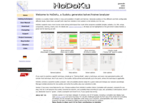 hodoku.sourceforge.net