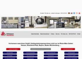 hoechsmann-maschinen.com