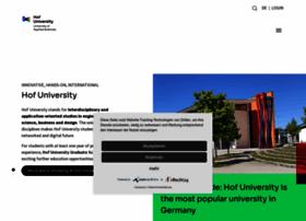 hof-university.com