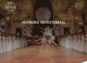 hofburgsilvesterball.com