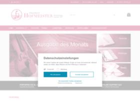 hofmeister-musikverlag.com