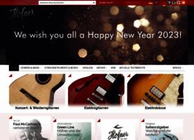 hofner-guitars.com