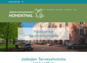 hohenthal.fi