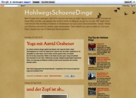 hohlwegsschoenedinge.blogspot.de