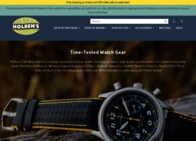 holbensfinewatchbands.com
