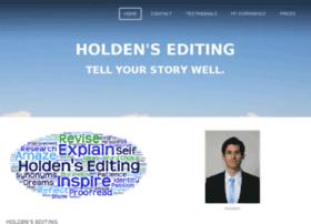 Holdensediting.com