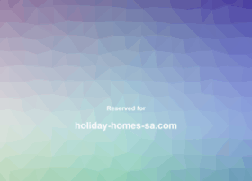 holiday-homes-sa.com